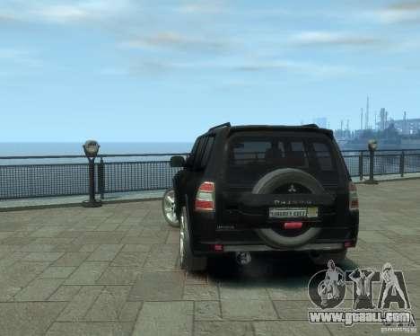 Mitsubishi Pajero for GTA 4 right view