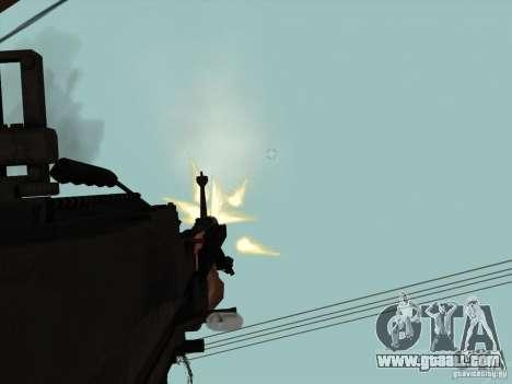M60E4 for GTA San Andreas forth screenshot