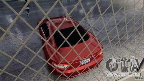 Maserati Gran Turismo 2008 Beta for GTA 4 back view