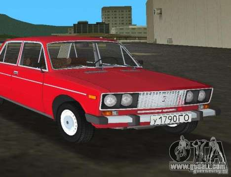 VAZ 2106 for GTA Vice City right view