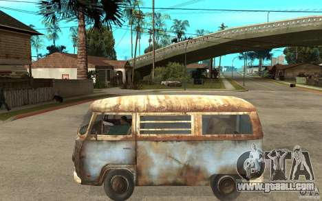 Dharma-Van (VW Typ 2 T2a) for GTA San Andreas left view