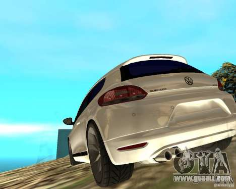VW Scirocco III Custom Edition for GTA San Andreas