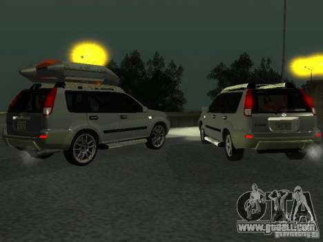 Nissan X-Trail for GTA San Andreas inner view