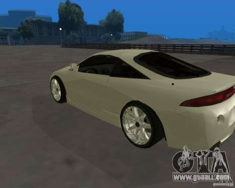 Mitsubishi Eclipse Tunable for GTA San Andreas left view