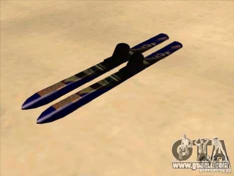 Ski-skiing for GTA San Andreas