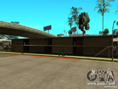 New Grove Street TADO edition for GTA San Andreas seventh screenshot
