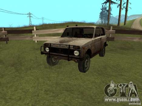 VAZ NIVA 1982 Rusty for GTA San Andreas