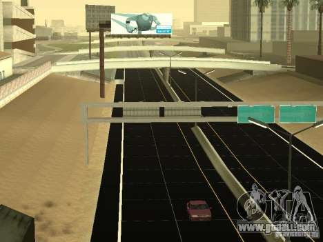New Roads in San Andreas for GTA San Andreas forth screenshot