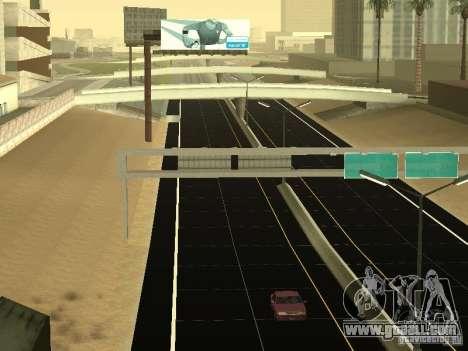 New Roads in San Andreas for GTA San Andreas forth screenshot