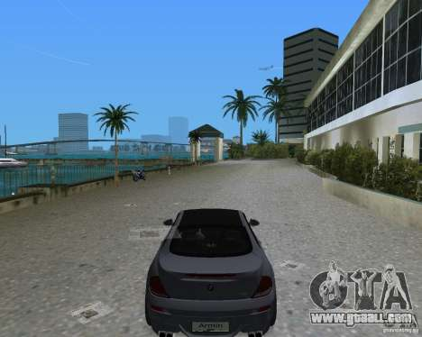 BMW M6 for GTA Vice City back left view