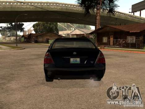 Nissan Teana for GTA San Andreas right view