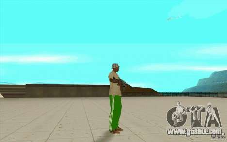 Pants adidas for GTA San Andreas forth screenshot