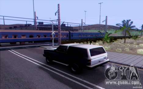 Russian TRAIN version v1.0 for GTA San Andreas third screenshot