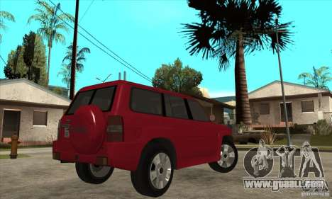 Nissan Patrol 2005 Stock for GTA San Andreas back view