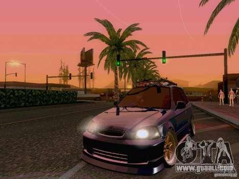 Honda Civic JDM Hatch for GTA San Andreas
