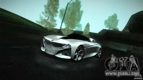BMW Vision Connected Drive Concept for GTA San Andreas right view
