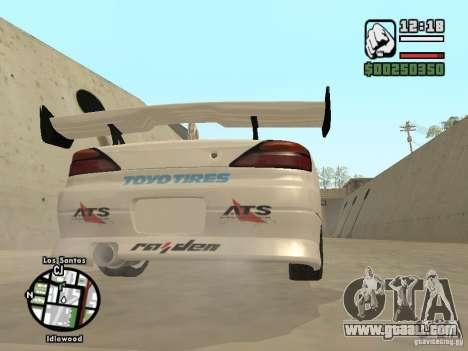 Nissan Silvia S15 Drift for GTA San Andreas right view