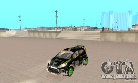 Ford Fiesta 2011 Ken Blocks for GTA San Andreas
