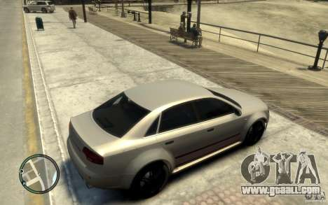 Audi RS4 for GTA 4 right view