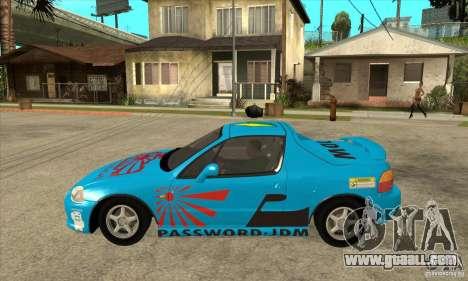 Honda CRX - DelSol for GTA San Andreas left view