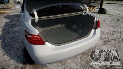 Toyota Camry 2007 (XV40) v1.0 for GTA 4 bottom view