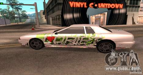 Paintjob for Elegy for GTA San Andreas right view