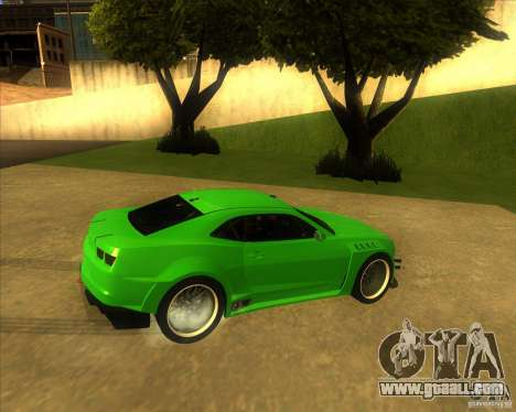 Chevrolet Camaro for GTA San Andreas left view