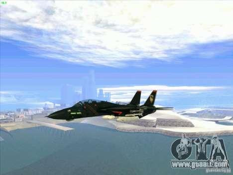 F-14 Tomcat Razgriz for GTA San Andreas inner view