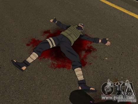 Hatake Kakashi From Naruto for GTA San Andreas second screenshot