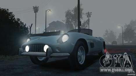 Ferrari 250 California 1957 for GTA 4 right view