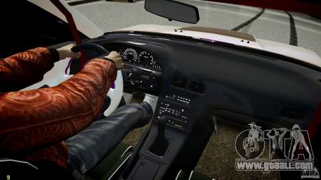 Nissan Sileighty for GTA 4 interior