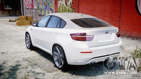 BMW X6M v1.0 for GTA 4 back left view