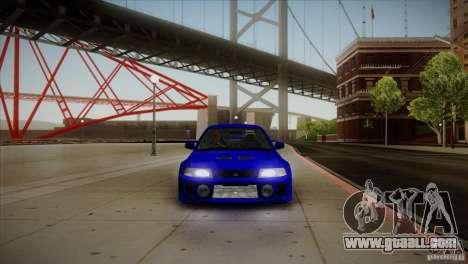 Mitsubishi Lancer Evolution lX for GTA San Andreas inner view
