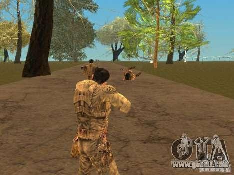 Degtyarev of Stalker for GTA San Andreas sixth screenshot