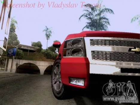 Chevrolet Cheyenne Single Cab for GTA San Andreas back view