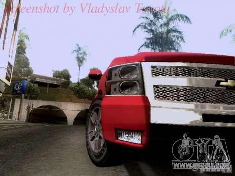 Chevrolet Cheyenne Single Cab for GTA San Andreas back view