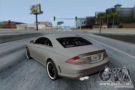 Mercedes-Benz CLS 63 AMG for GTA San Andreas right view
