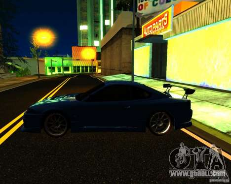 Nissan Silvia C-West for GTA San Andreas upper view