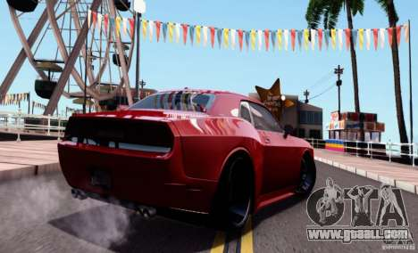 Dodge Challenger Rampage Customs for GTA San Andreas left view
