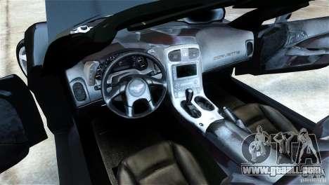 Chevrolet Corvette C6 Convertible v1.0 for GTA 4 right view