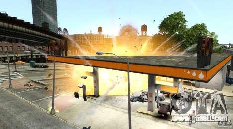 Explosion & Fire Tweak 1.0 for GTA 4