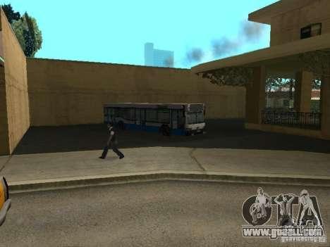 5 Bus v. 1.0 for GTA San Andreas sixth screenshot