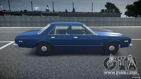 Dodge Aspen v1.1 1979 for GTA 4 inner view