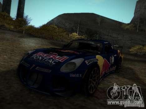 Pontiac Solstice Redbull Drift v2 for GTA San Andreas