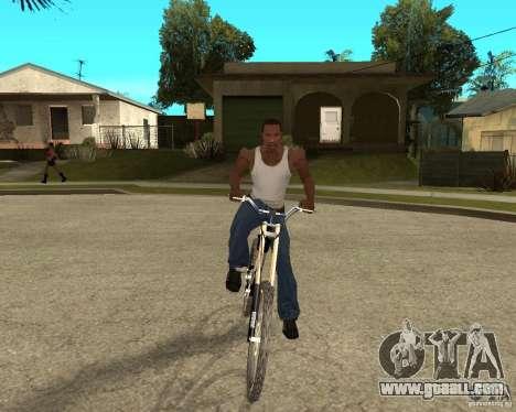 Diamondback strike Beta for GTA San Andreas back view