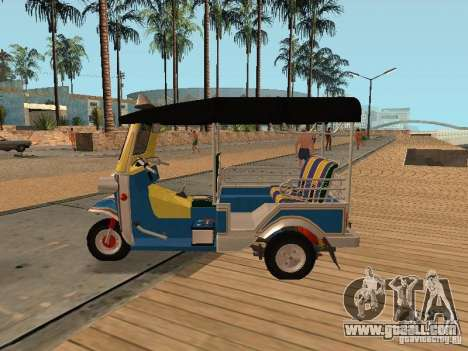 Tuk Tuk Thailand for GTA San Andreas right view