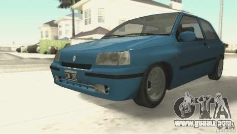 Renault Clio RL 1996 for GTA San Andreas left view