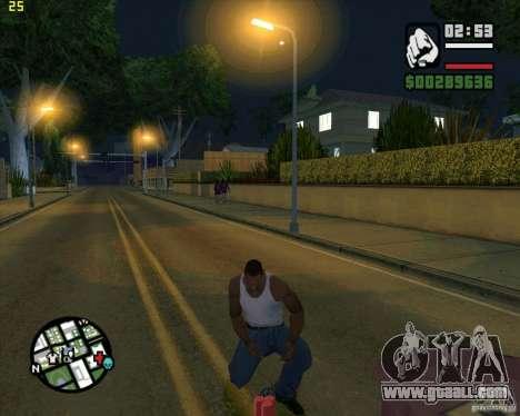 Dynamite for GTA San Andreas second screenshot