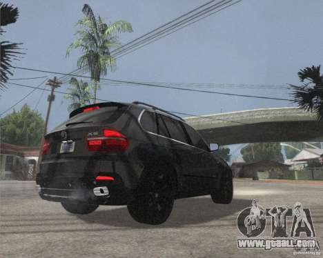 BMW X5 2009 Tune for GTA San Andreas right view