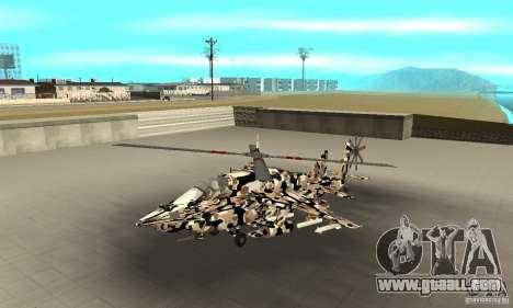 Hydra Hunter for GTA San Andreas